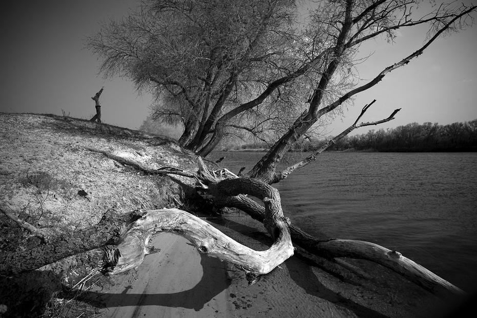 на реке Сухая