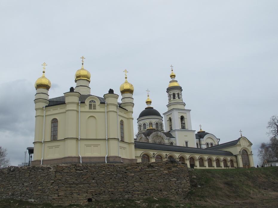 Храм в селе Меркушино, Свердловская обл.