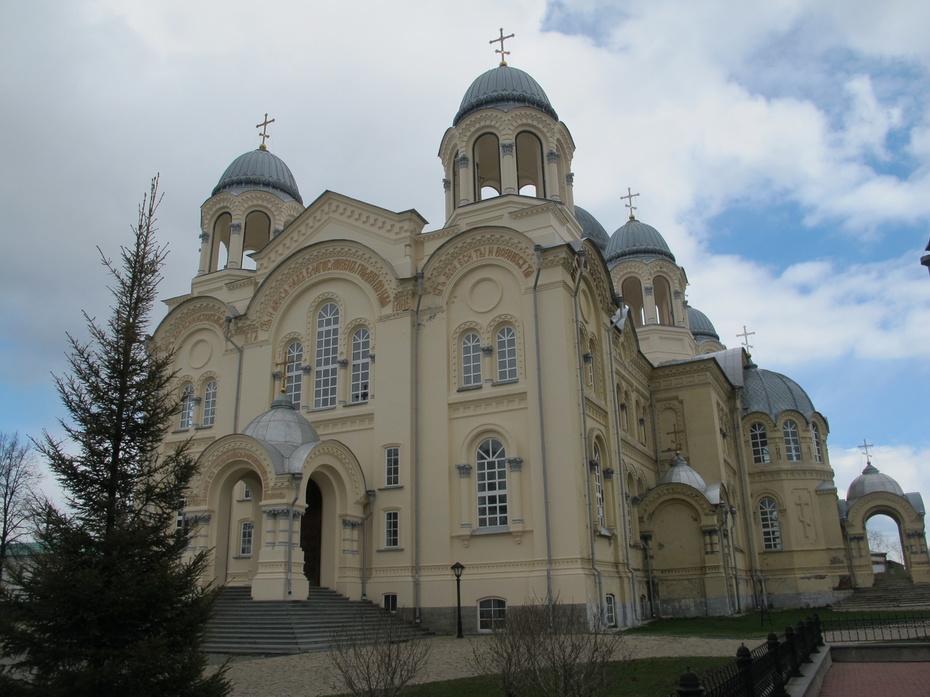 Крестовоздвиженский Собор. Верхотурского мужского монастыря.