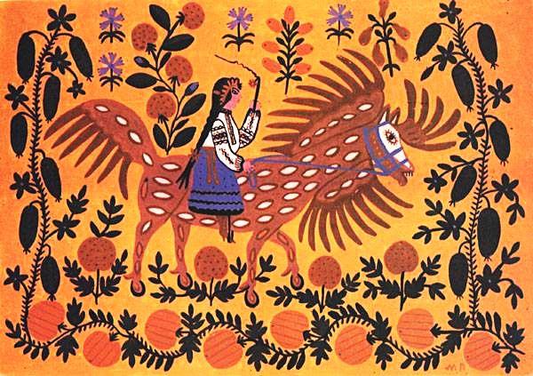 Украинская художница Мария Примаченко