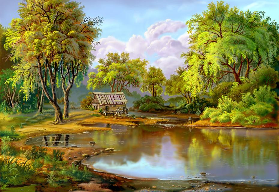 Пейзажи от Виктора Циганова