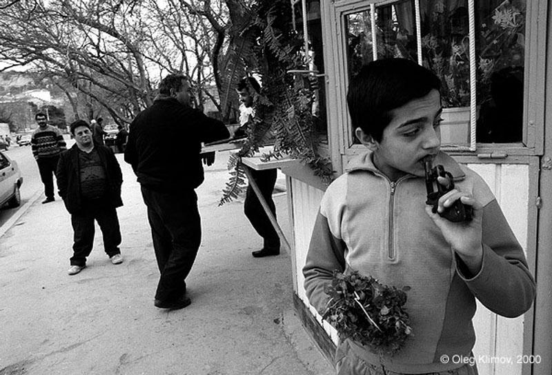 Олег Климов фотографирует, думая, и думает, фотографируя.