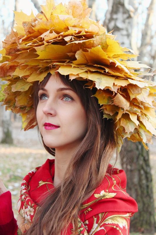 Oksana, autumn