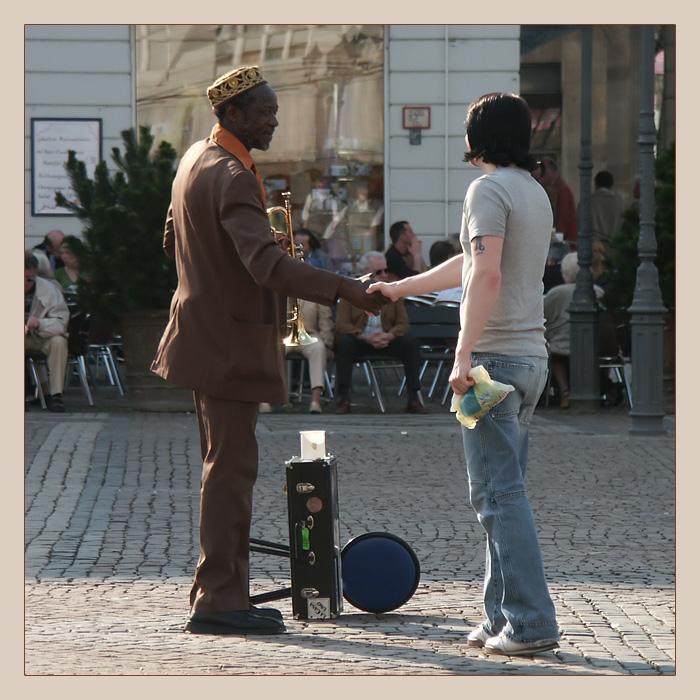 Жители Немецких городов