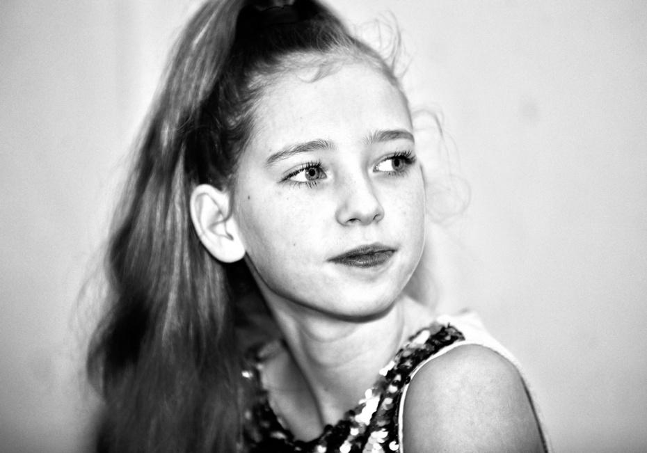 Просто девочка, портрет
